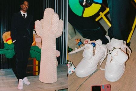 A$AP Rocky が adidas for Prada の新作?をお披露目