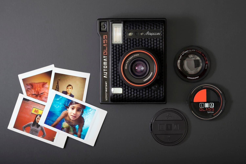 광각 렌즈 탑재한 로모그래피 인스턴트 카메라