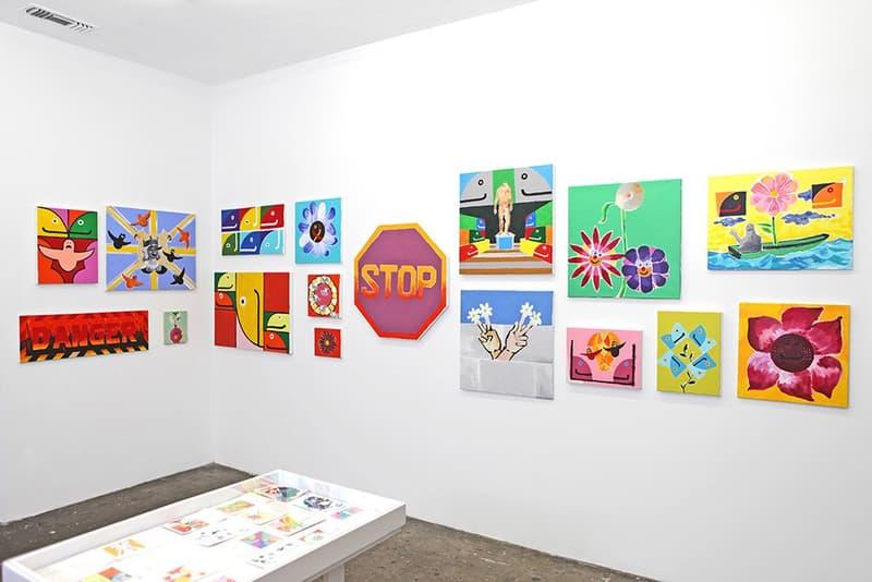 마크 곤잘레스 2017 파워 플라워 로스앤젤레스 전시 Mark Gonzales Fower Flower Exhibition Los Angeles