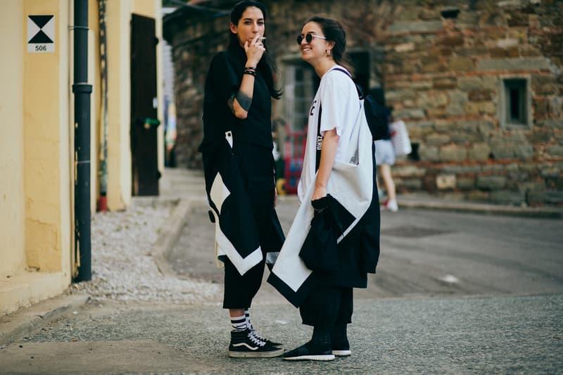2017 피티 워모 거리 패션 pitto uomo street style