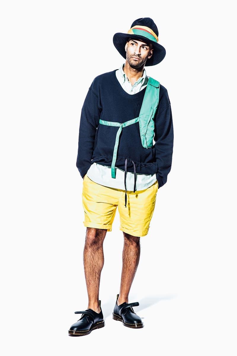 엔지니어드 가먼츠 2018 봄, 여름 컬렉션 engineered garments 2108 spring summer collection