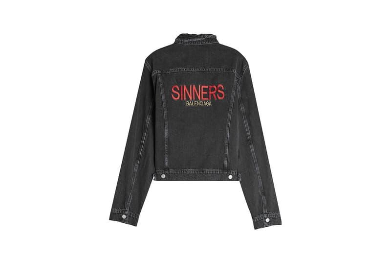 발렌시아가 'sinners' 캡슐 컬렉션 balenciaga capsule collection 2017