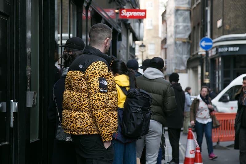 슈프림 인디펜던트 트럭 컴퍼니 가을 겨울 컬렉션 런던 매장 발매 현장 스트릿 스냅 2017 supreme independent fall winter collection london drop street snaps