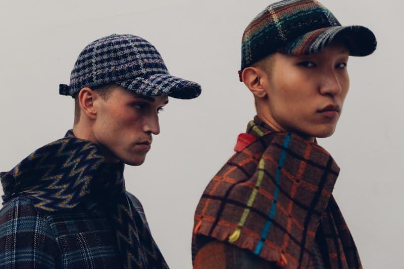 라로즈 미쏘니 2017 가을 겨울 모자 니트 컬렉션 룩북 공개 보기 Larose Missoni Fall Winter collection lookbook reveal look