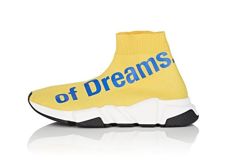 발렌시아가 'The Power of Dreams' 스피드 니트 스니커 balenciaga the power of dreams sneakers 2018