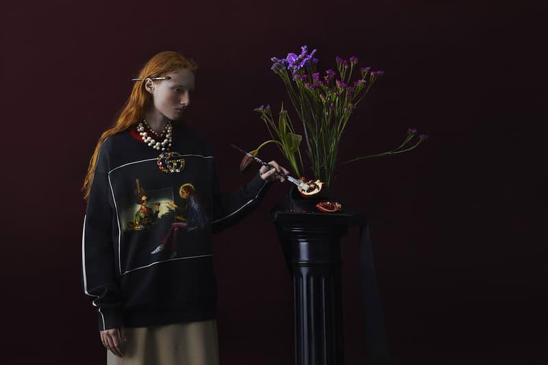구찌의 한정 이그나시 몬레알 '환각' 컬렉션 2018 spring summer 봄 여름