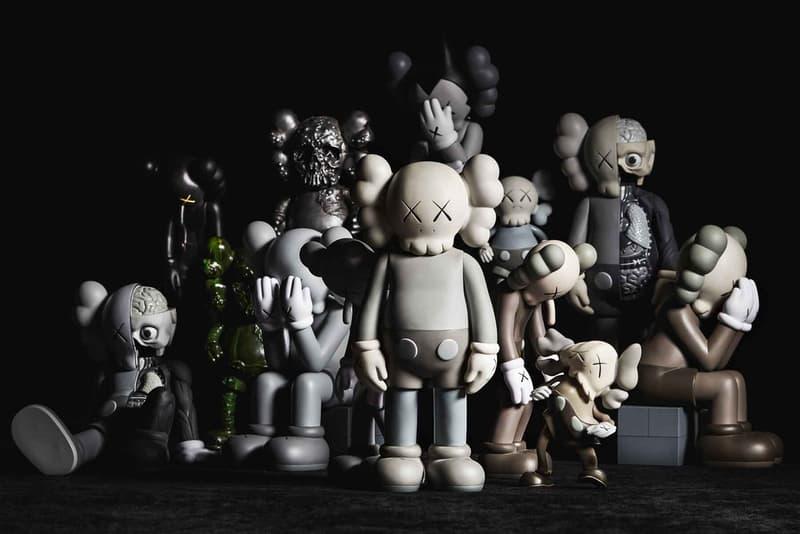 베어브릭 메디콤 토이 슈프림 카우스 경매 2018 bearbrick medicom toy toy story supreme kaws heritage auctions