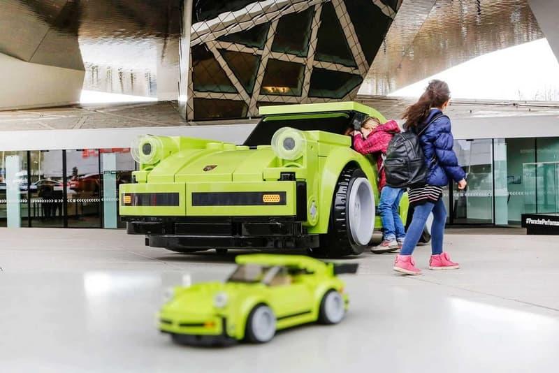 레고 브릭으로 만든 실제 사이즈 포르쉐 911 porsche 911 turbo lego bricks photos