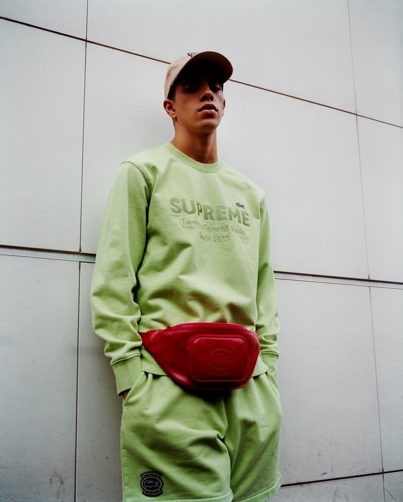 슈프림 x 라코스테 2018 봄 협업 룩북 & 제품 사진 supreme lacoste spring