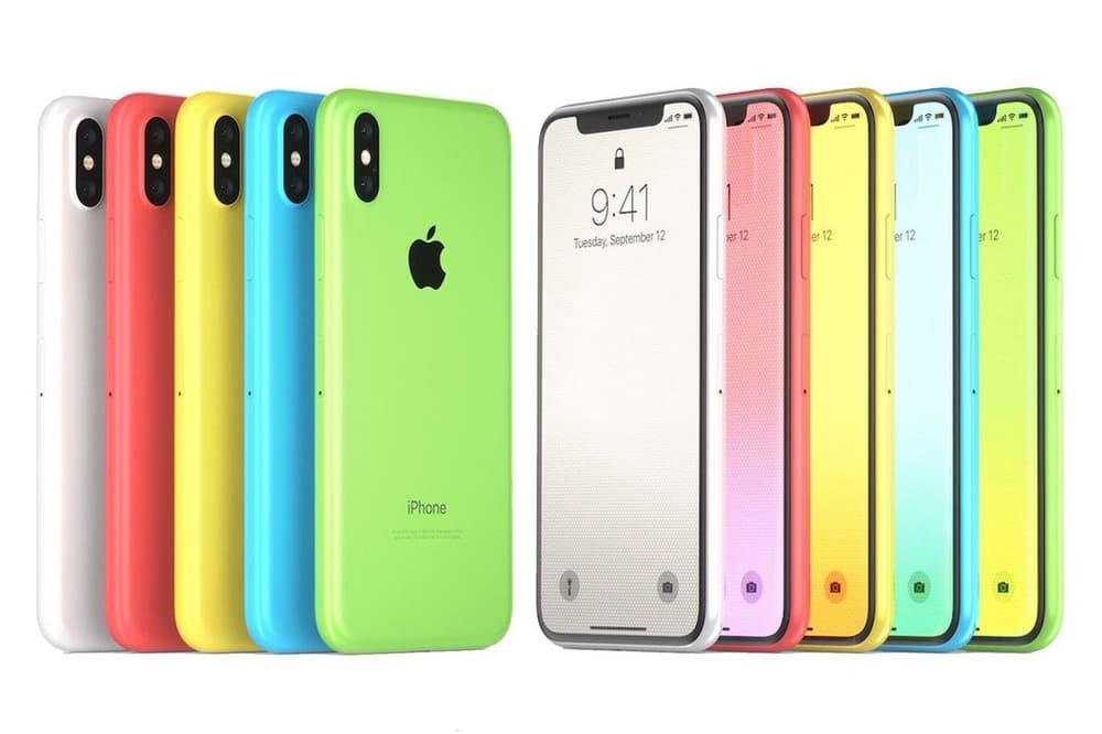 새 아이폰 추정 디자인 유출 아이폰 XC 2018 apple new iphone design leaks rumor iphonexc