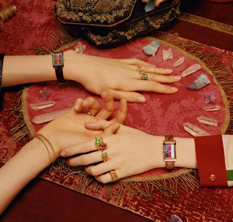 구찌 시계 주얼리 캠페인 공개 gucci watch & jewelry timepiece campaign 2018 영상 video