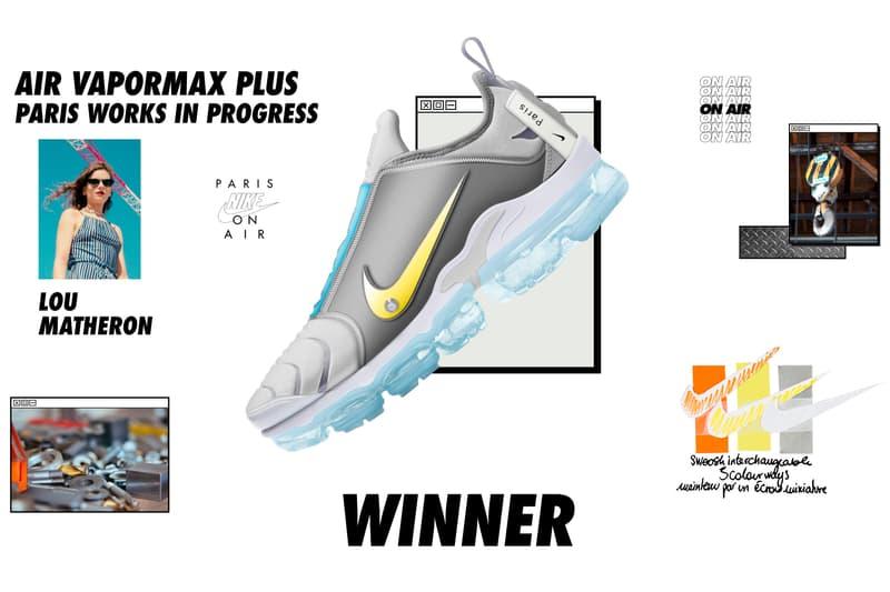 나이키 온 에어 스니커 디자인 우승작 6종 2018 nike on air sneaker design