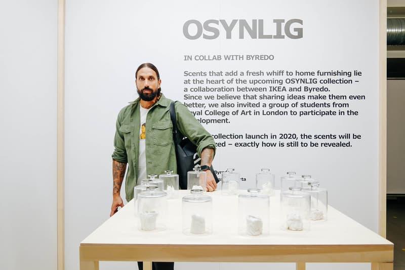 벤 고햄 이케아 OSYNLIG 컬렉션 인터뷰 2018