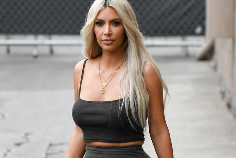 새 이지 의류 & 이지 500 '슈퍼문 옐로' 캠페인 2018 kim kardashian yeezy supermoon yellow