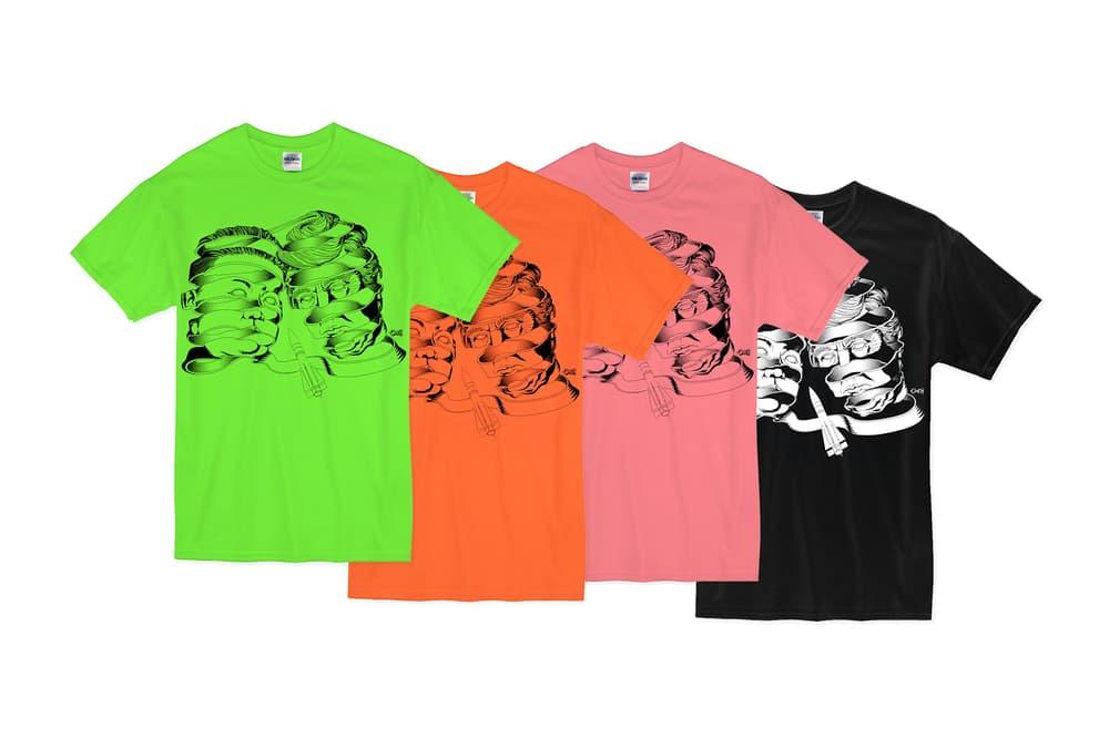 옥근남의 북미정상회담 기념 일러스트레이션 티셔츠 2018 okehhh kim jong un donald trump mc escher t shirt