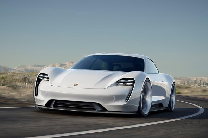 포르쉐 최초 전기 슈퍼카 브랜드 타이칸 미션e premiere porsche electric mission e taycan