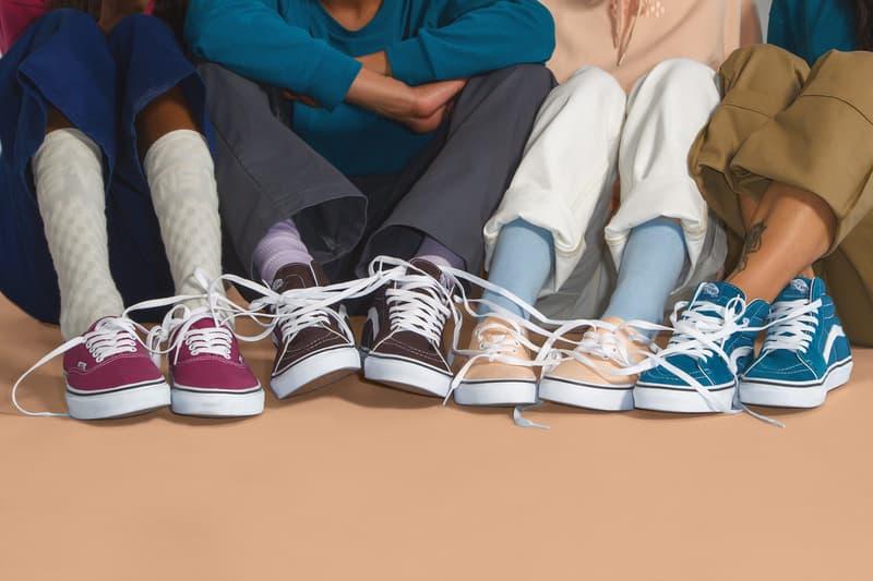 반스 컬러 띠어리 컬렉션 vans color theory collection 2018
