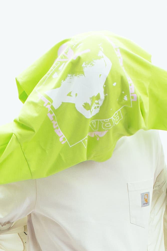 칼하트 WIP x 브레인데드 협업 예고 룩북 일러스트레이션 2018