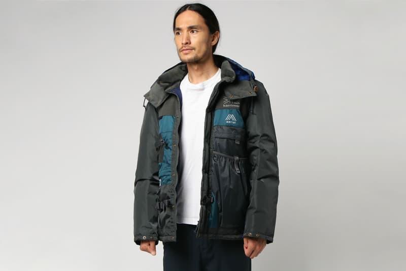 준야 와타나베 x 노스페이스 x 카리모어 협업 배낭 재킷 2018 가을 겨울