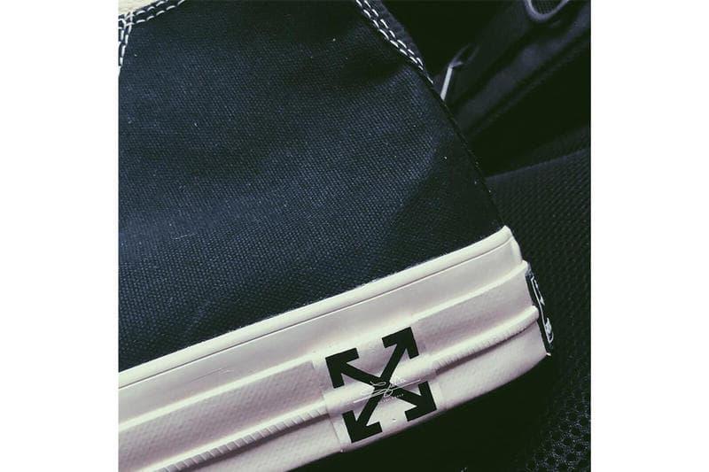 오프 화이트 x 컨버스, 척테일러 70 V2 사진 유출 2018