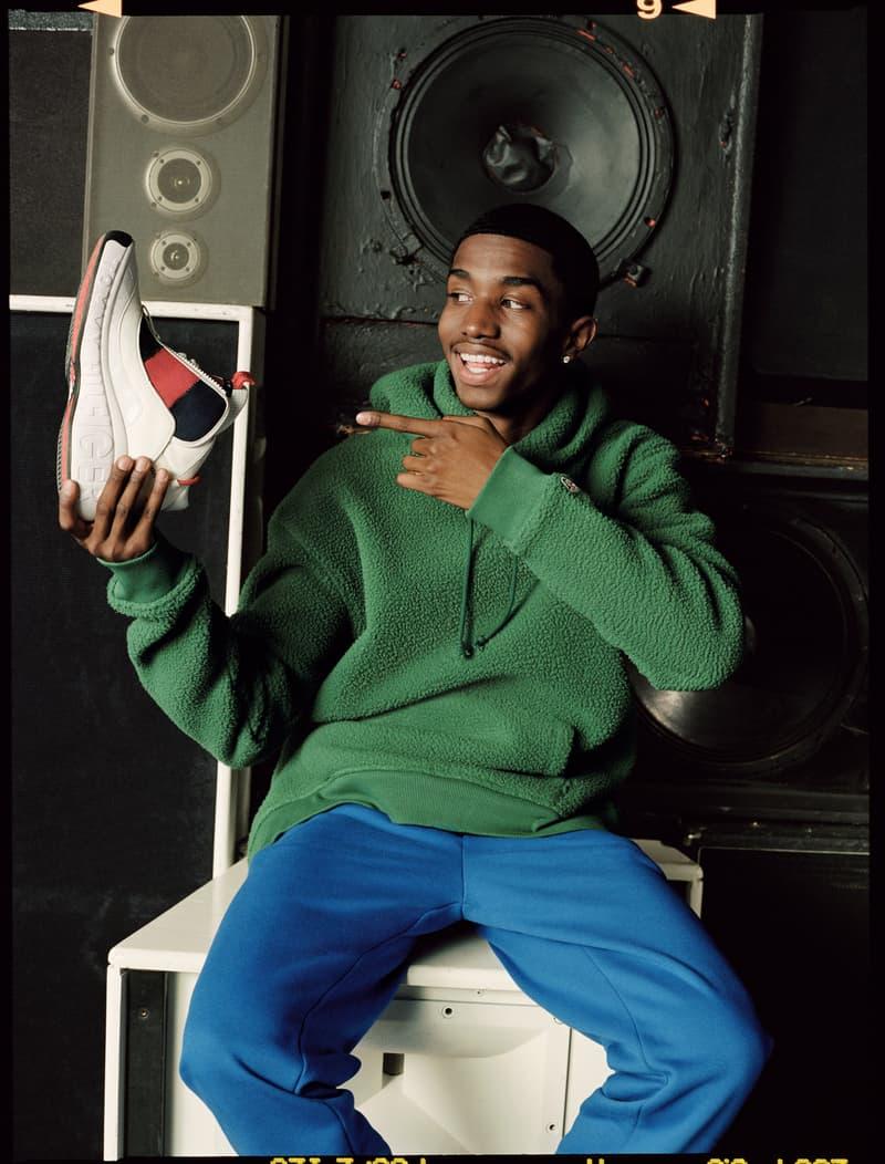 90년대로의 회귀, 타미 진스의 가을과 나이키 에어 포스 2