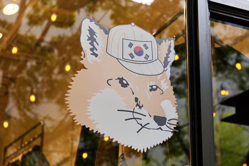 메종 키츠네의 첫 서울 단독 매장, 카페 & 한국 캡슐 2018