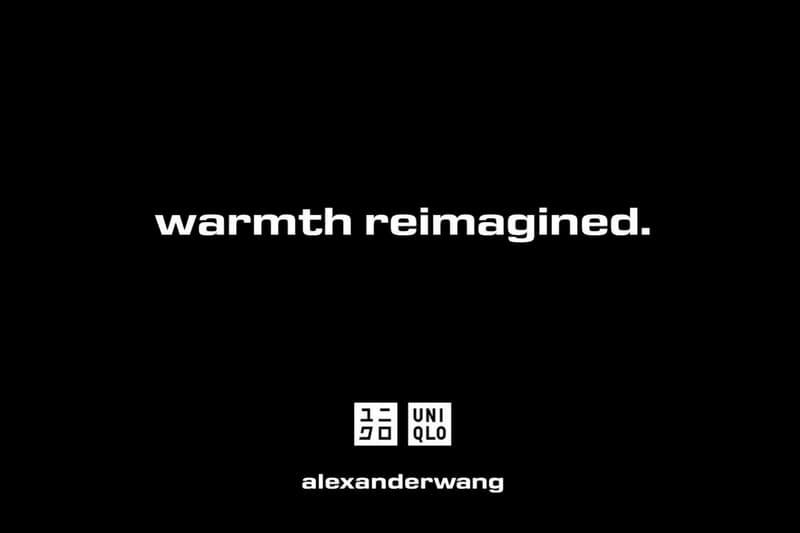 알렉산더 왕 x 유니클로, 언더웨어 협업 컬렉션 출시