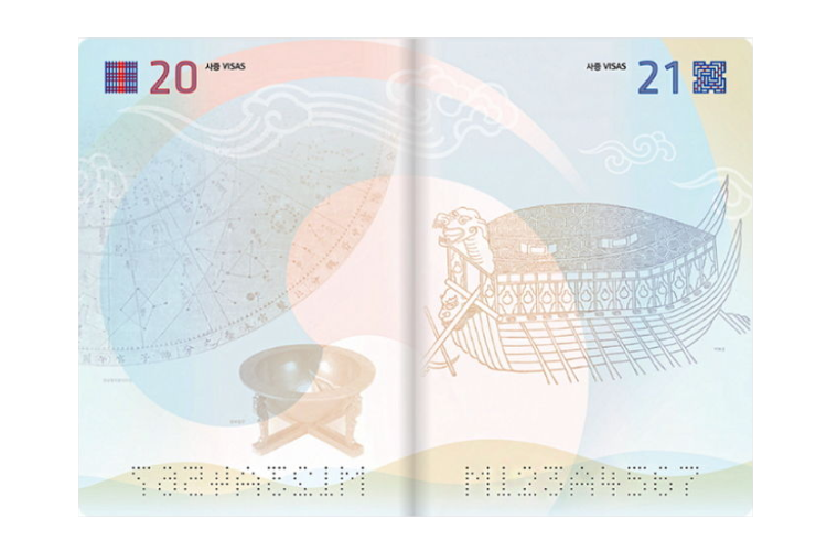 대한민국 차세대 전자 여권 2020 리디자인 국민 투표 2018