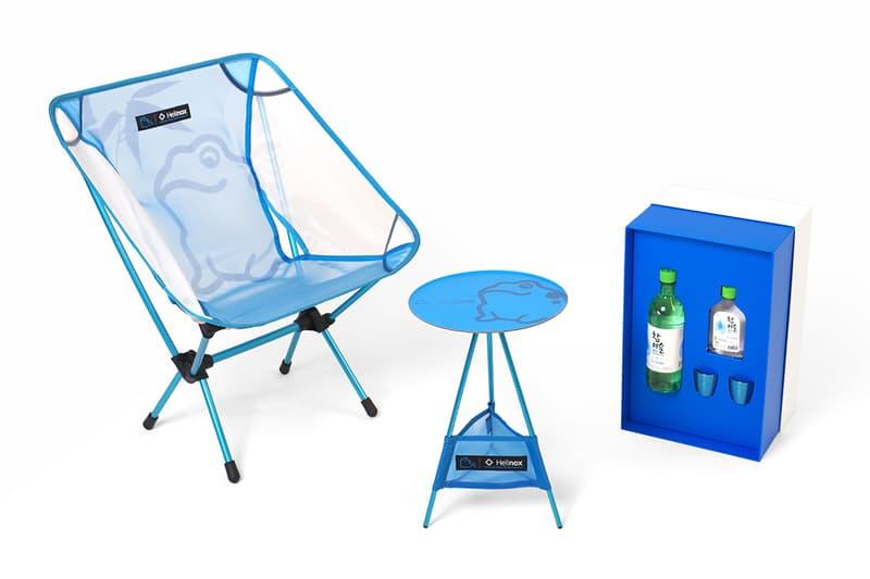참이슬 소주 x 헬리녹스 협업 패키지 & 캠핑용품 2018
