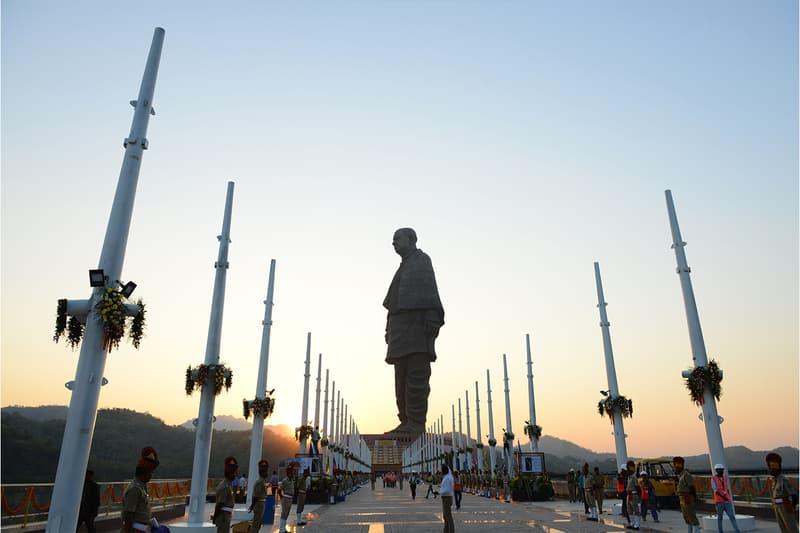 인도에 세워지는 세계에서 가장 큰 동상, 높이는?
