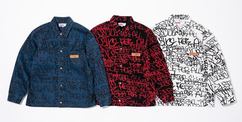 슈프림 x 꼼데가르송 셔츠 2018 가을, 겨울 컬렉션 재발매 2018