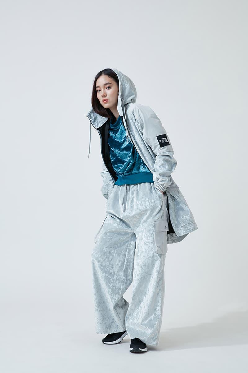노스페이스 블랙 시리즈 벨벳 캡슐 컬렉션 뉴욕 프로토타입 매장 한정 발매