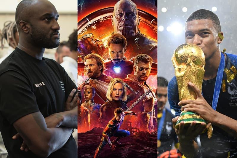 버질 아블로, 칸예 웨스트, 평창, 월드컵 키워드로 돌아보는 하입비스트의 2018년