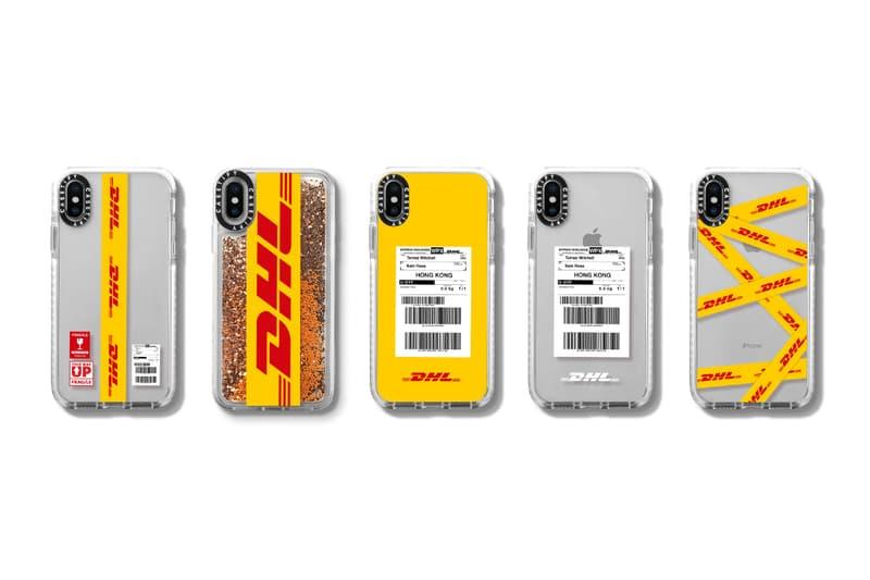 DHL x 케이스티파이 한정판 테크 액세서리 컬렉션 CASETiFY 휴대폰케이스 강화 케이스 애플 워치 밴드