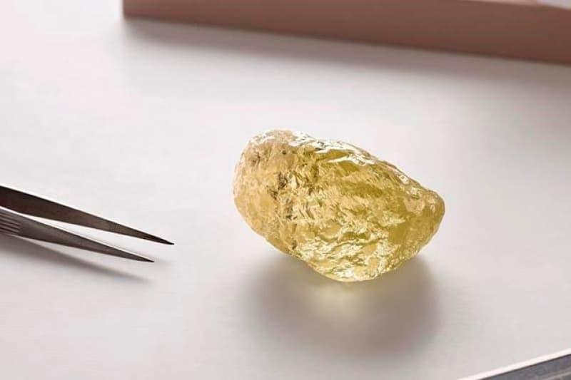 캐나다에서 발견된 552캐럿의 천연 다이아몬드, 가격은?