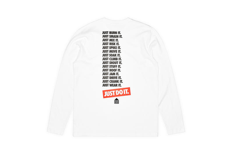 도버 스트리트 마켓 x 나이키 'JUST DO IT' 30주년 기념 컬렉션