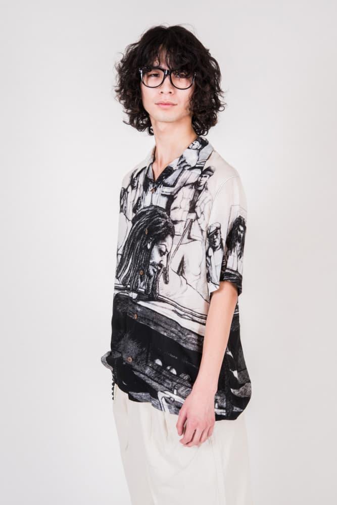 밥 말리를 주제로 한 캐피탈 2019 봄 여름 컬렉션 2018