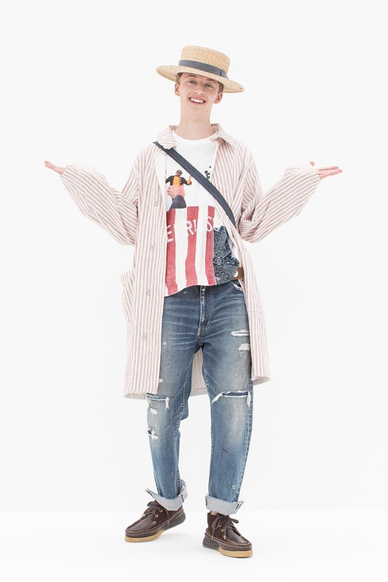 한 단계 진화한 서부 스타일, 비즈빔 2019 봄, 여름 룩북