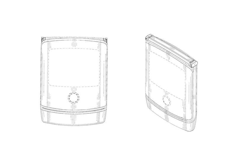 모토로라 레이저 V3 폴더블 스마트폰 디자인 도면 유출