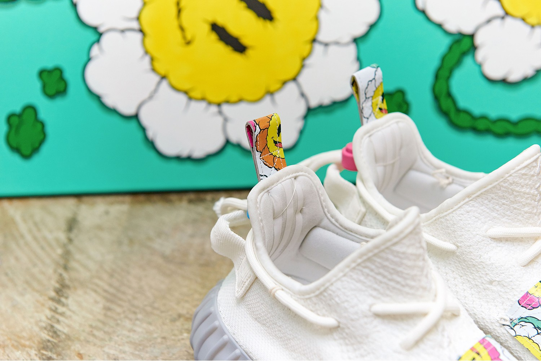 아디다스 오리지널스 이지 부스트 350 V2 트리플 화이트 아티스트 커스텀 2019 겨울 adidas-originals-yzy-350-v2-triple-white-diy