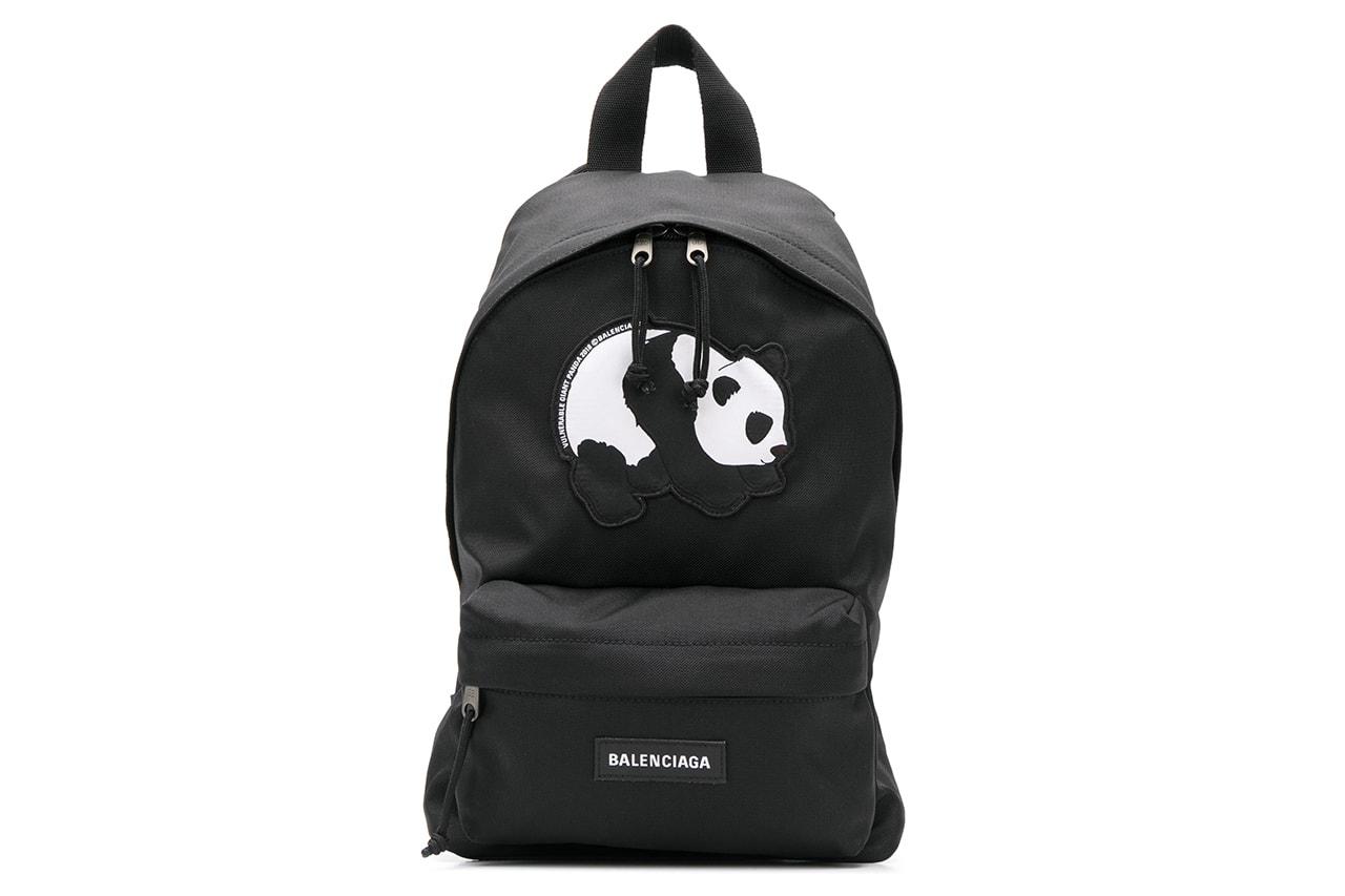 발렌시아가 '멸종 위기 동물' 컬렉션, 파페치 단독판매