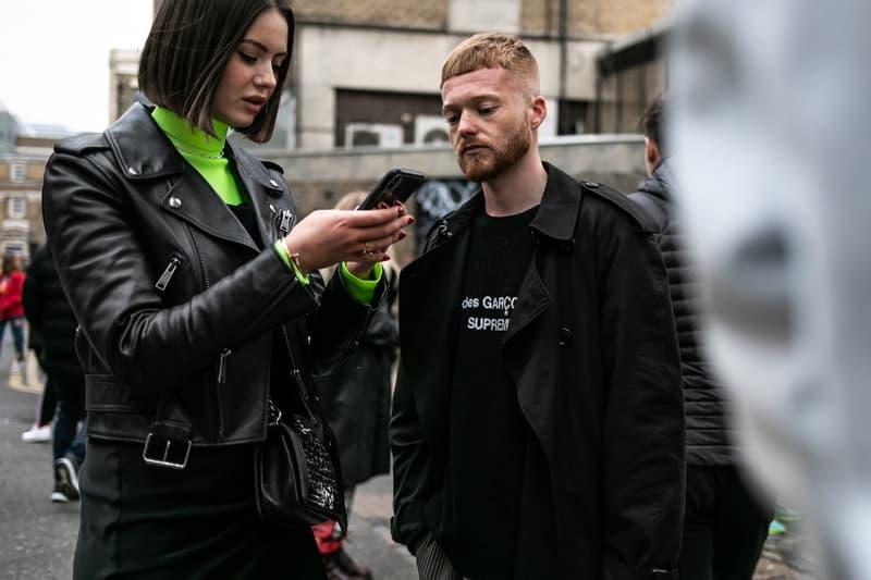 Street snaps 2019 가을 겨울 런던 남성 패션위크 스트리트 패션 스냅