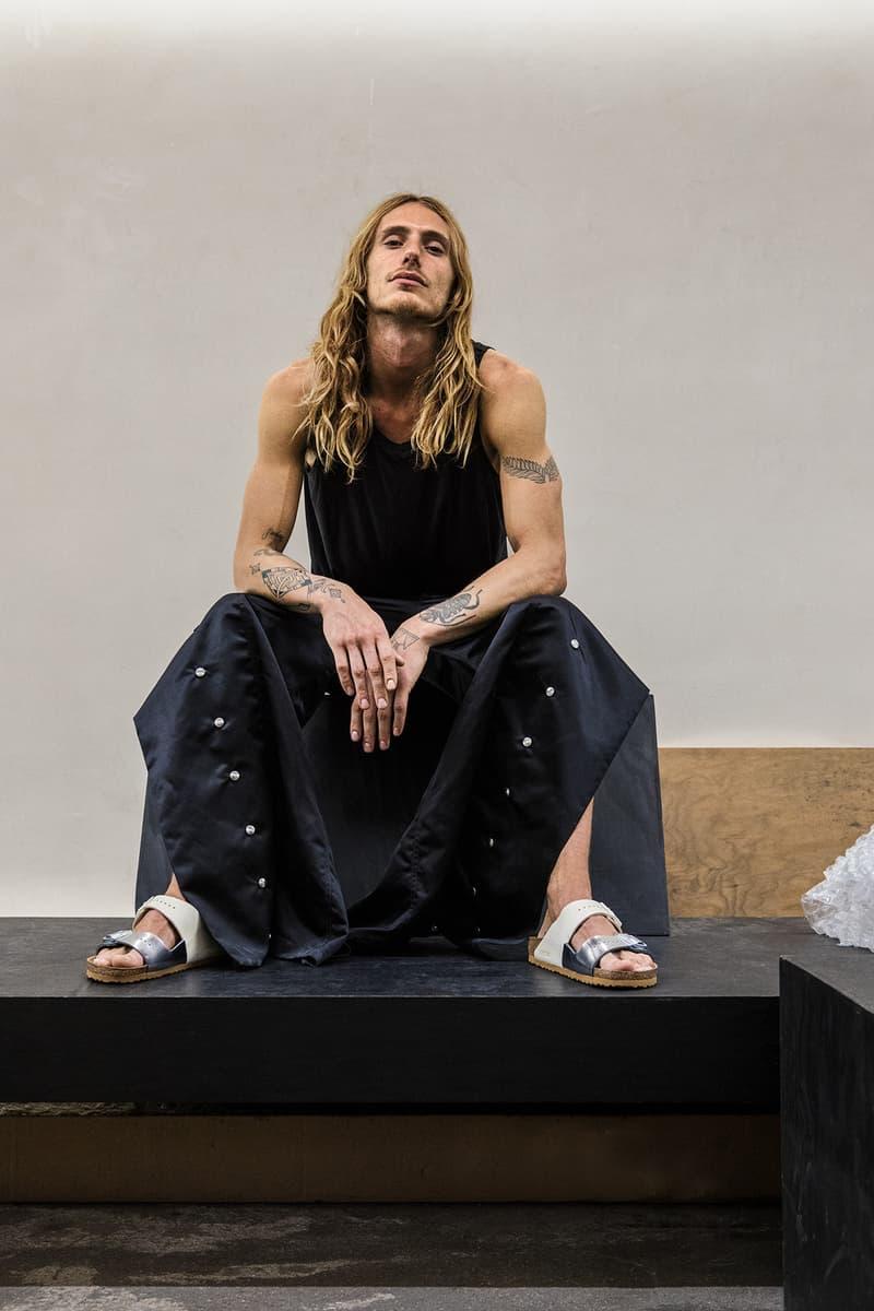 릭 오웬스 x 버켄스탁 2019 봄, 여름 협업 컬렉션