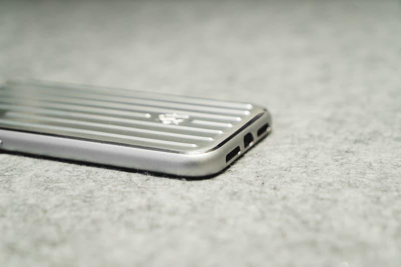 리모와, 알루미늄 토파즈 캐리어 디자인의 아이폰 케이스 출시