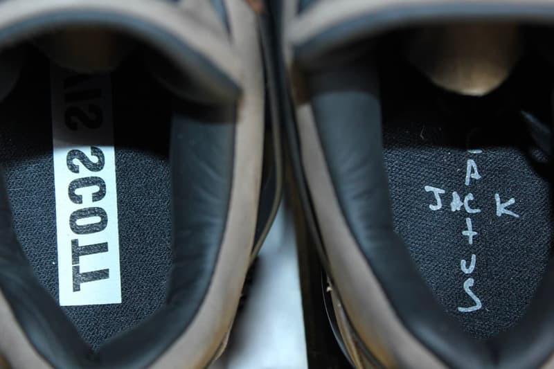 트래비스 스콧 협업 에어 조던 4 '캑터스 잭 올리브' 사진
