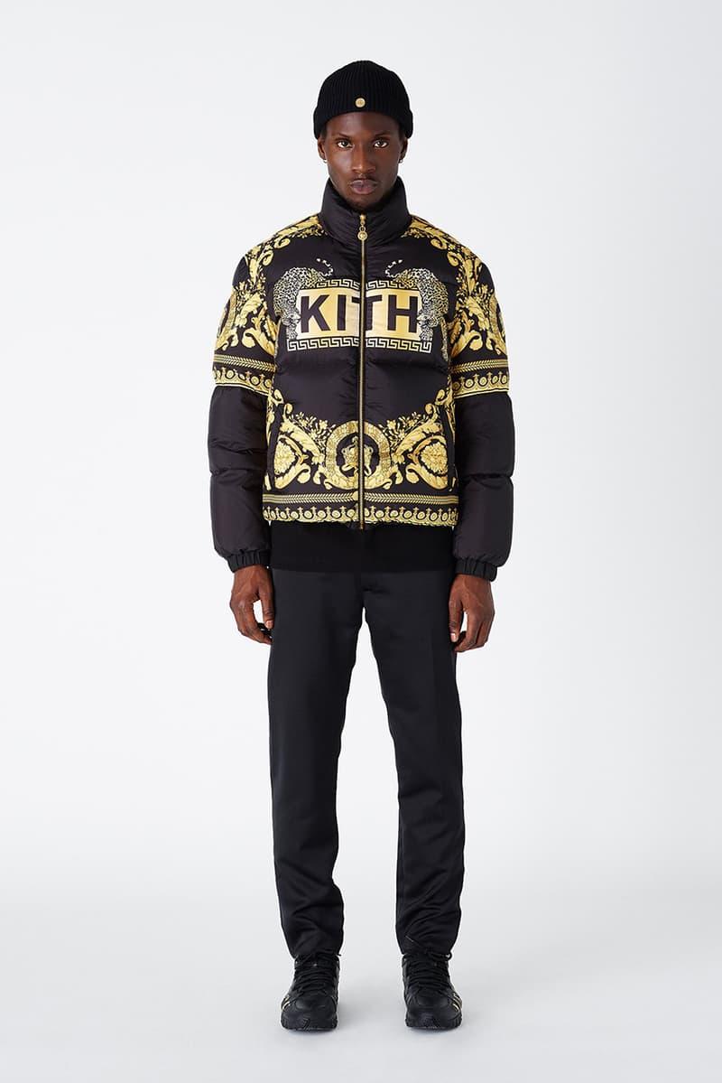 KITH x 베르사체 2019 FW 협업 컬렉션 룩북 및 판매처 공개 럭키 블루 스미스 벨라 하디드 갤러리아 백화점