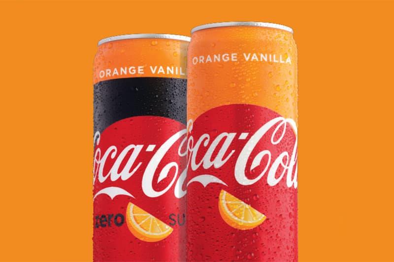 코카콜라, 오렌지 바닐라 맛 신제품 출시 환타 오렌지 특이한 콜라 음료