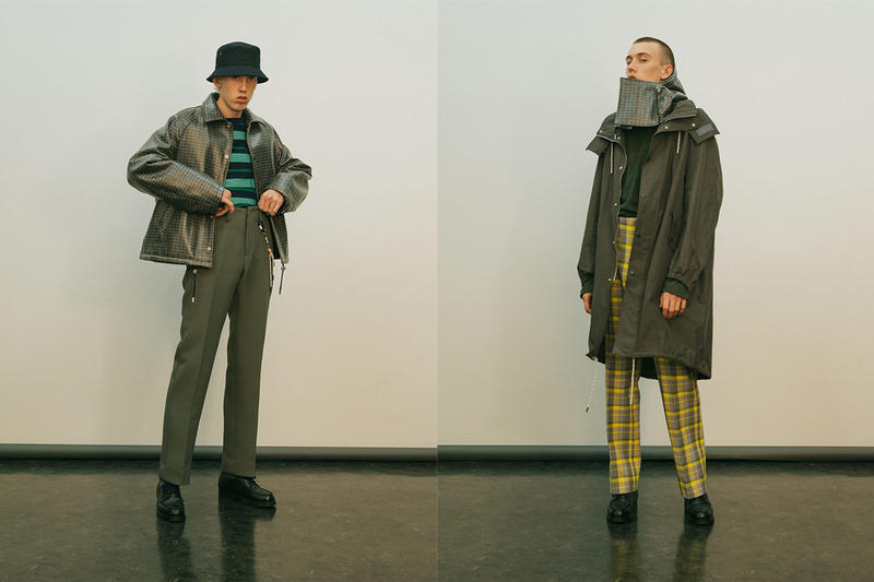서로 다른 요소의 조합, 네임 2019 FW '에드 온' 컬렉션 룩북