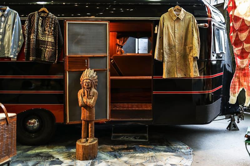 비즈빔 파리 인디고 캠핑 트레이딩 포스트 전시 & Subsequence 매거진 론칭 섭시퀀스 Visvim Indigo Camping Trading Post Exhibition