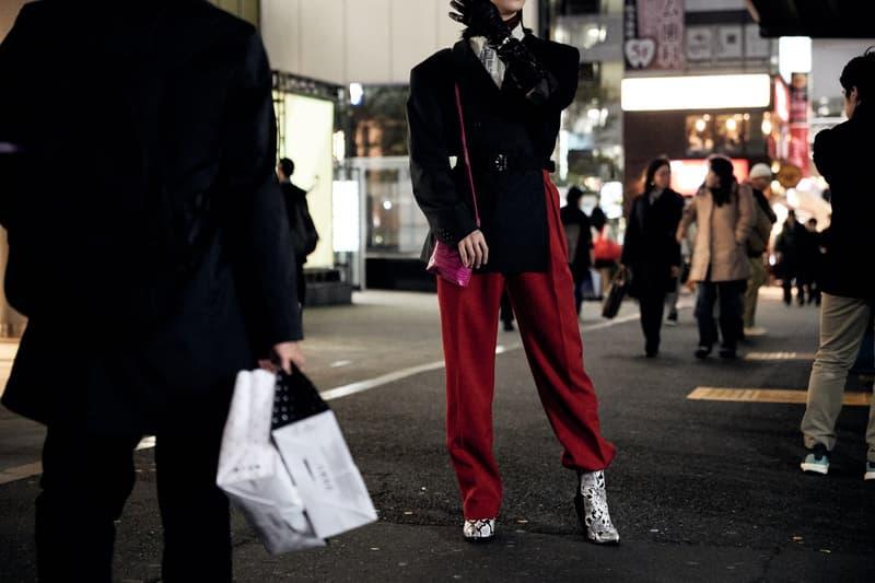 2019 가을 겨울 도쿄 아마존 패션위크 스트리트 스냅 스타일
